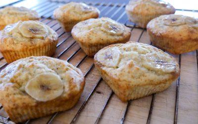 Sunne og gode bananmuffins