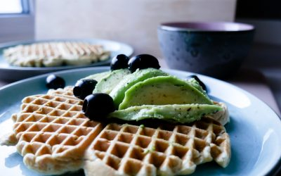Grove lunsjvafler + en uvanlig smakskombinasjon