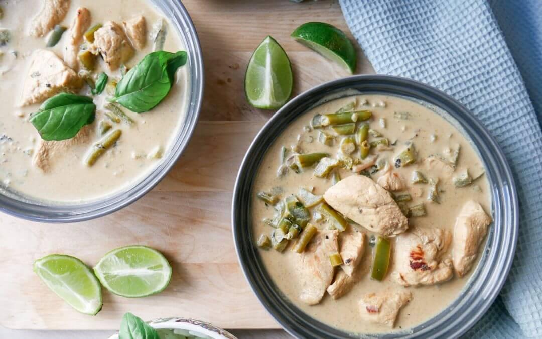 Saftik kylling med eksotiske smaker