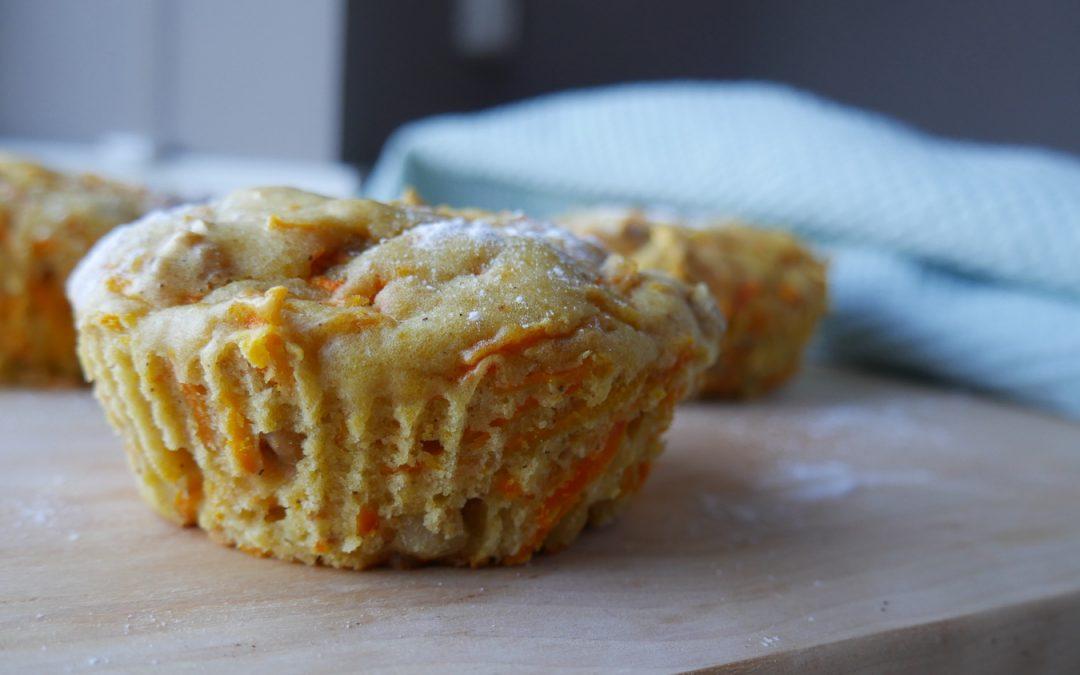 En sunn variant av gulrotmuffins